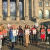 Светлана Тихановская приняла участие в женской акции возле здания бундестага