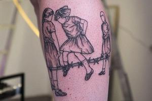 Моя татуировка: Музыкантка и креаторка Сима Питерская  о прыгающих девочках