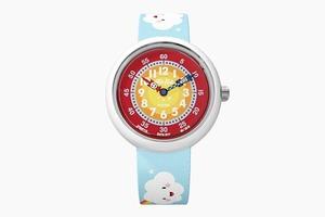 Cмешные разноцветные часы Flik Flak