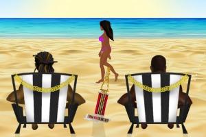 Канье Уэст берет женщин в плен в игре по клипу