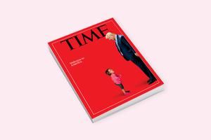 Time посвятил грустную обложку миграционной политике Трампа