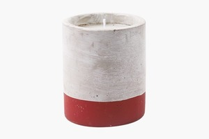 Ароматическая свеча в бетоне Paddywax Urban Cranberry Rose