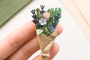 На кого подписаться: Крошечные бумажные растения