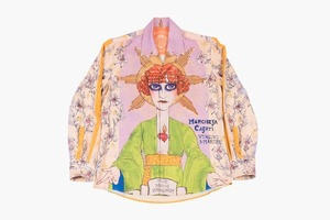 Рубашка Fratelli Mocchia di Coggiola, вдохновлённая маркизой Казати