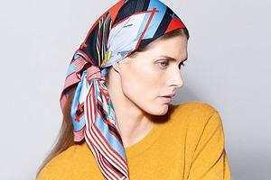 Приложение Hermès научит повязывать шарфы и платки
