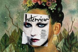Mag + Art: Коллажи из глянца и живописи