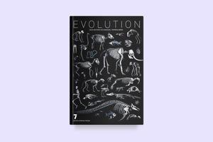Белое на чёрном: Скелеты животных в фотоальбоме «Evolution»