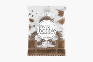 Пружинки Invisibobble, пахнущие шоколадом