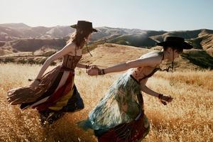 Калифорнийские просторы и ковбойские мотивы  в кампании Dior