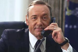 Фрэнк Андервуд разыграл по телефону Хиллари Клинтон