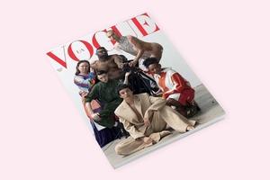 Обложка дня: Новый номер украинского Vogue