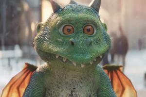 John Lewis показал  в рекламе дракона, который очень ждёт Рождество