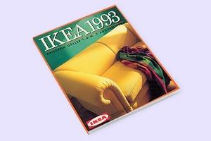 В закладки: Архив каталогов ИКЕА за 70 лет