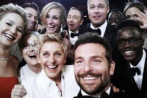 Эллен ДеДженерес сделала золотое селфи на «Оскаре»