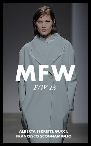 Неделя моды в Милане:  День 1