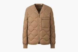 Стёганая куртка из переработанного пуха Uniqlo
