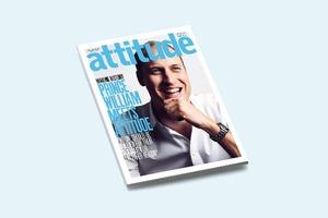 Принц Уильям снялся  для обложки гей-журнала Attitude