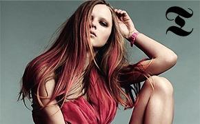 Тенденция: разноцветные волосы