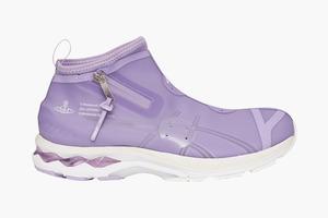 Полупрозрачные кроссовки из лимитированной коллекции ASICS x Vivienne Westwood