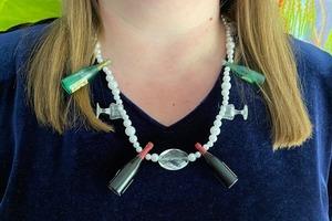 Находка: Владелица магазина SANTA RRRITA Рита Косякова и её ожерелье