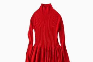 Яркое и тёплое платье Uniqlo U
