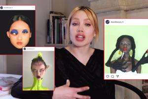 На кого подписаться: Новый YouTube-канал визажистки Исамайи Ффренч