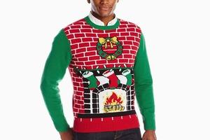 Уродливый рождественский свитер с плеча Майкла Шеннона