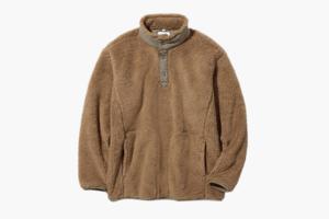 Уютный флисовый свитер — для отдыха и на выход