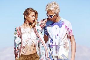 H&M показали лукбук коллекции, посвященной Coachella