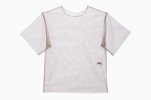 Огромная прозрачная футболка Stussy