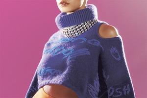 Утеплённые куртки и боди из денима в осенне-зимней коллекции H&M Studio