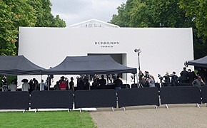 London Fashion Week: Показ Burberry Prorsum в Кенсингтонских садах