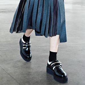 Юбки ниже колена в новых коллекциях