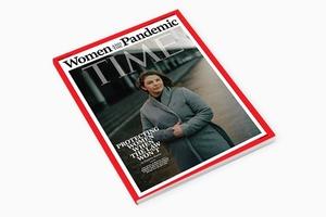 Директор «Насилию.нет» Анна Ривина появилась на обложке Time