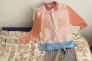 На кого подписаться: Блузы из винтажных тканей марки Après Ski