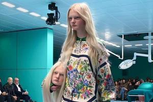 Модели Gucci вышли с «отрубленными» головами на подиум