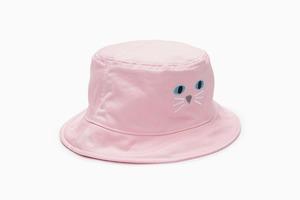 Праздник, который всегда  с тобой: Ироничная розовая панама с котом