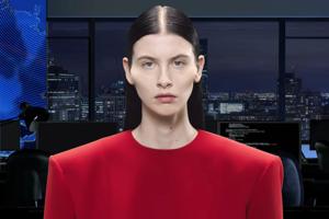 Сюрреалистичный выпуск новостей — в рекламной кампании Balenciaga