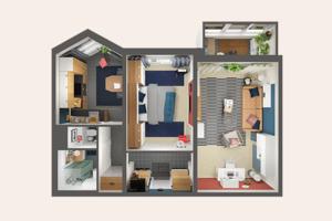 В закладки: Дизайн-проекты ИКЕА для российских квартир