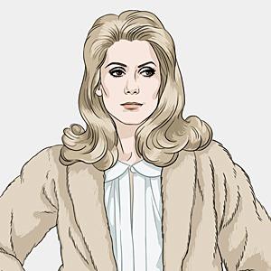 Катрин Денев, актриса и синоним французского стиля