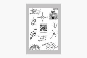 Переводные татуировки из коллаборации «ОВД-Инфо» и «Нате, носите»