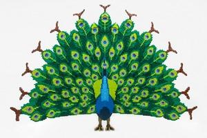 Флора и фауна:  Лего-скульптуры  Шона Кинни