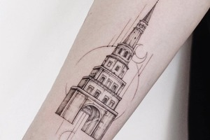 Моя татуировка: Журналистка Сююмбике Давлет-Кильдеева о башне Сююмбике