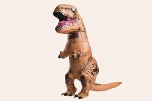 Свадебное видео  с невестой в костюме тираннозавра