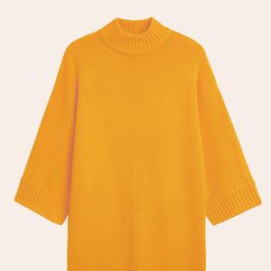 Тепло и уютно:  11 трикотажных платьев  на холодный сезон