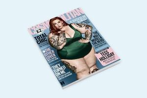 Плюс-сайз-модель Тесс Холлидей появилась  на обложке Cosmopolitan