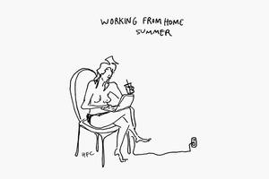 На кого подписаться: Иллюстрации Хилари Фицджеральд Кэмпбелл для The New Yorker