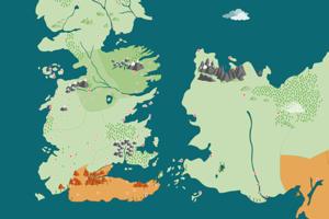 В закладки: Подробная онлайн-карта вселенной «Игры престолов»