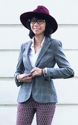 Гардероб: Джени Кай,  директор моды Esquire Singapore