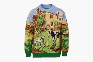 Уютный свитер Gant x Luke Edward Hall